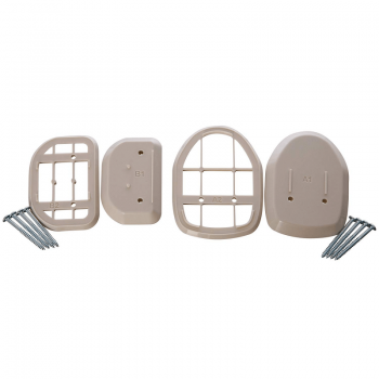 Dreambaby Retractable Gate Wall Spacers – White