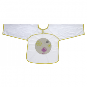 Beaba Crafty Long Sleeve Bib – Green