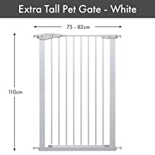 Extra Tall Pet Gate Dimensions