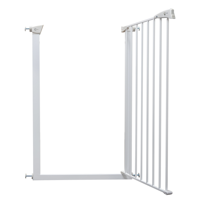 Callowesse Extra Tall Pet Gate – 75cm – 82cm Wide and 110cm Tall – White