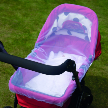 Clippasafe Pram and Carrycot Insect Net – Black