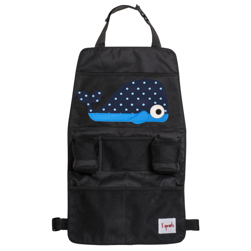 Image of 3 Sprouts Backseat Organiser - Whale