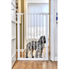 Callowesse Extra Tall Pet Gate - 75cm - 82cm wide - 110cm tall - White