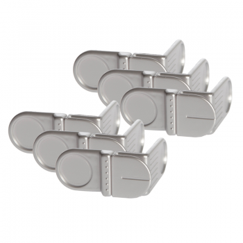 Dreambaby Angle Lock 6 Pack – Silver
