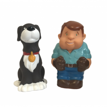 Tomy Johnny and Friends Farm Adventure Playset – Johnny and Dog