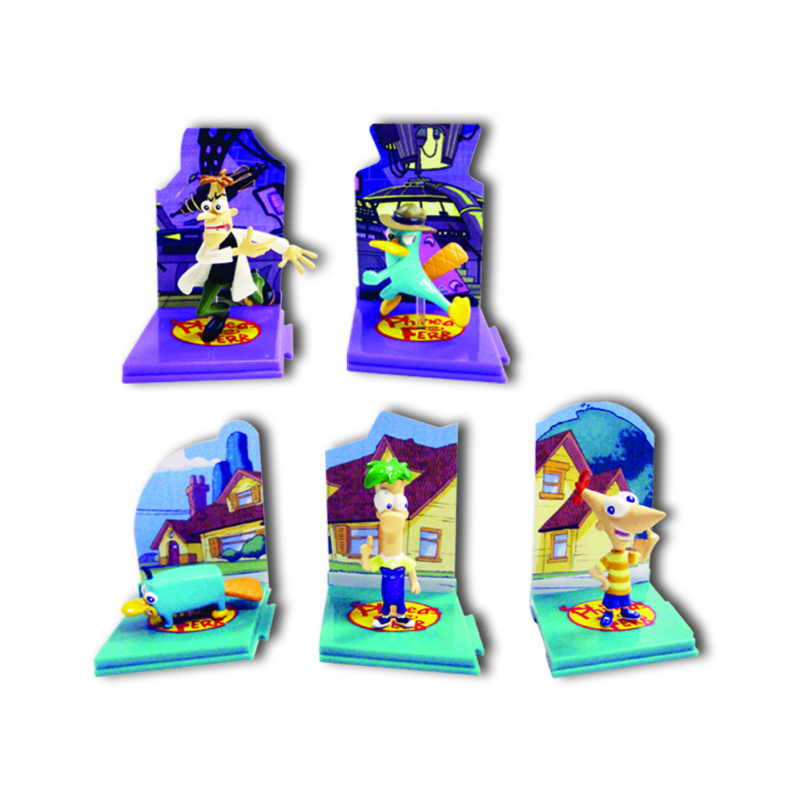 Tomy Collectables Phineas and Ferb Figurines