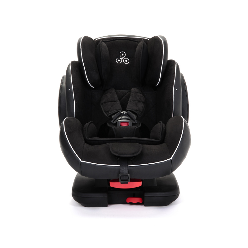 Ickle Bubba Solar Group 1/2/3 Car Seat with ISOFIX Base - Black