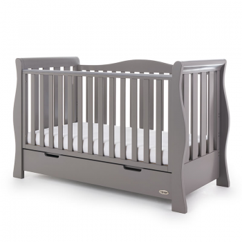 Obaby Stamford Luxe 3 Piece Room Set – Taupe Grey