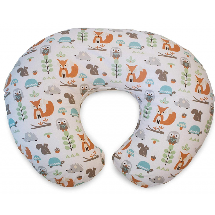 Boppy Nursing/Feeding Pillow with Cotton Slipcover – Clouds