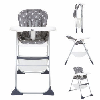 Joie Mimzy Snacker Highchair – Twinkle Linen
