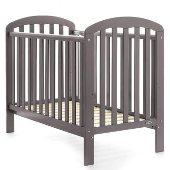 Obaby Lily Cot – Taupe Grey
