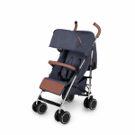 Ickle Bubba Discovery Stroller - Denim Blue/Silver