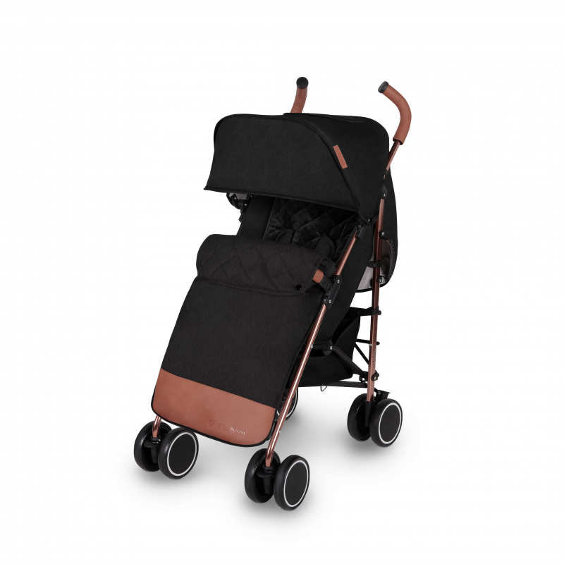 Ickle Bubba Discovery Prime Stroller - Black/Rose Gold