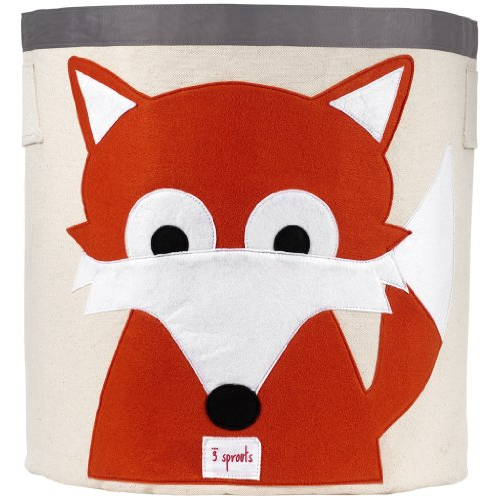 Image of 3 Sprouts Fox Storage Bin