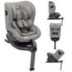 Joie i-Spin 360 i-Size Group 0+/1 Car Seat - Grey Flannel