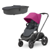 Quinny Hubb Stroller and Hux Carrycot