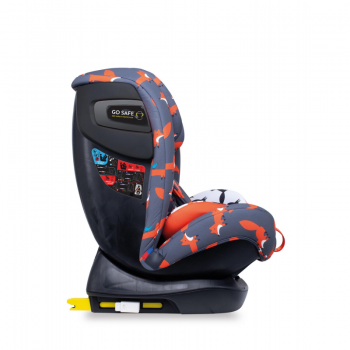 Cosatto All In All+ Group 0+/1/2/3 Car Seat – Charcoal Mister Fox