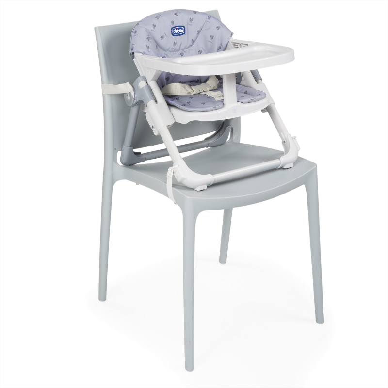 Chicco Chairy Booster Seat – Bunny (Grey)