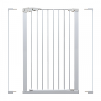 Callowesse Extra Tall Pet Gate – 75cm – 96cm wide and 110cm tall – White