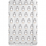 Callowesse Baby Changing Mat - Grey Penguin