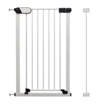 Callowesse Saluki Tall and Narrow Pet Gate – Auto-Close Pressure Fitted – 65cm – 79cm wide and 96cm tall