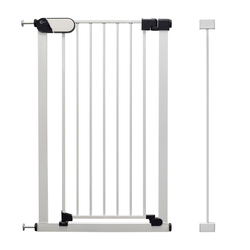Callowesse Saluki Tall and Narrow Pet Gate – Auto-Close Pressure Fitted – 65cm – 77cm wide and 96cm tall