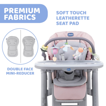 Chicco Polly Magic Relax Highchair - Paradise Pink