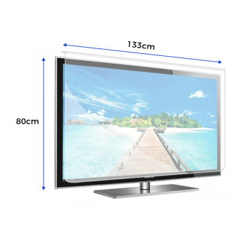 Smart TV Anti-Glare Screen Protector – For TV Size's 55″ – 56″