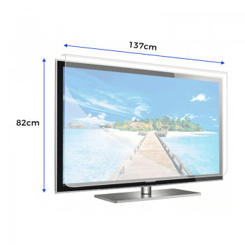 Smart TV Anti-Glare Screen Protector – For TV Size's 57″ – 58″