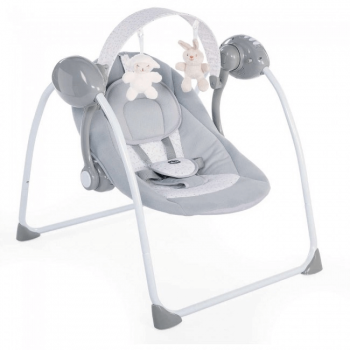 Chicco Relax and Play Swing – Cool Grey
