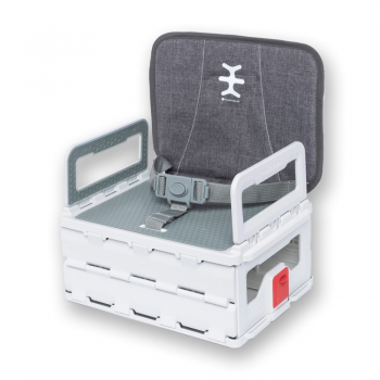 Nikidom Flat Pack Booster – Heather Grey