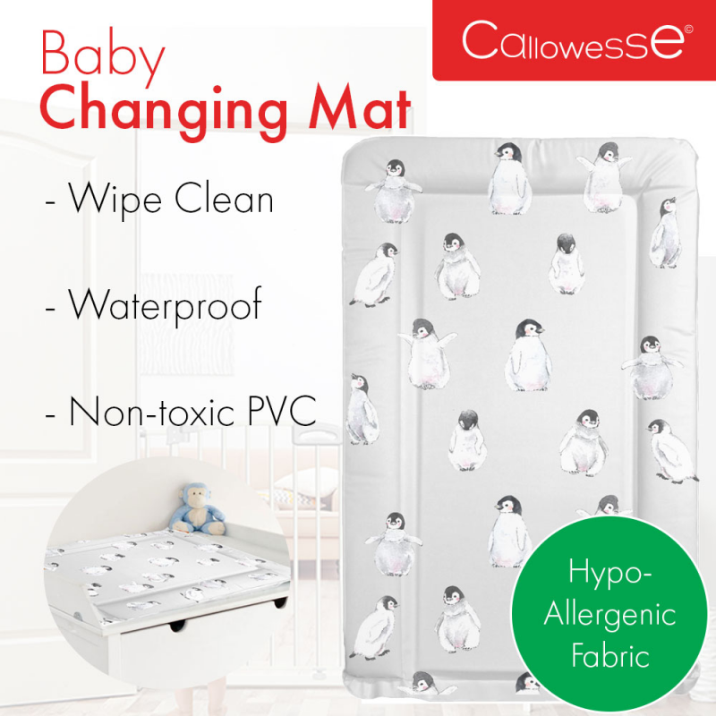 Callowesse Baby Changing Mat – Penguin Party