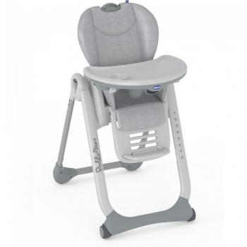 Chicco Polly 2 Start Highchair – Happy Silver