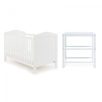 Obaby Whitby 2 Piece Room Set – White