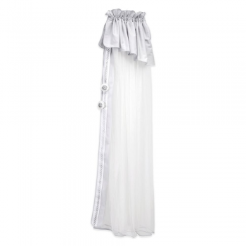 Mee-Go ABC Embroidered 5M Mosquito Net Drape