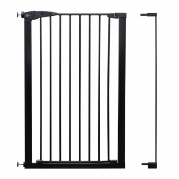Callowesse Extra Tall 7cm Pet Gate Extension – Black