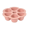 Beaba Multiportions Silicone Tray – 6 x 150ml – Pink