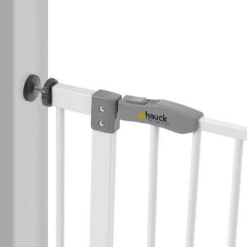 Hauck Open'n Stop Safety Gate + 21cm Extension (95 to 102.50 cm) – White