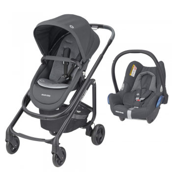Maxi-Cosi Lila SP Pushchair + CabrioFix Car Seat – Essential Graphite