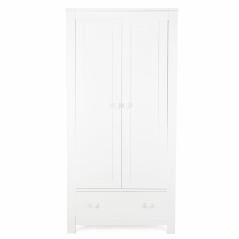 Cuddleco Aylesbury Double Wardrobe – Satin White