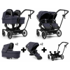 Black Lounge Navy Twin Package