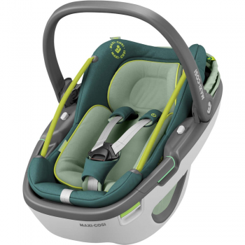 Maxi-Cosi Coral i-Size Group 0+ Car Seat – Neon Green