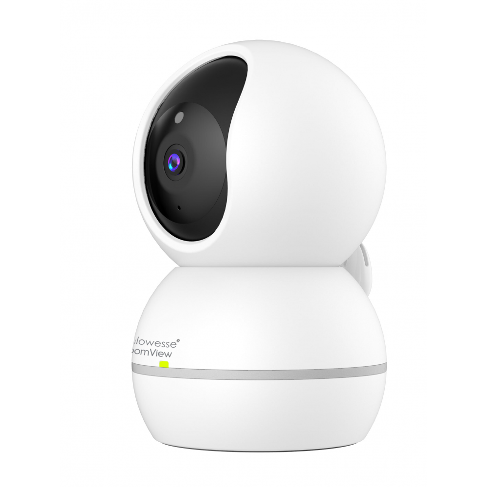 """Callowesse© RoomView Video Baby Monitor with 2 Cameras 4.3/"""" LCD Split Screen"""