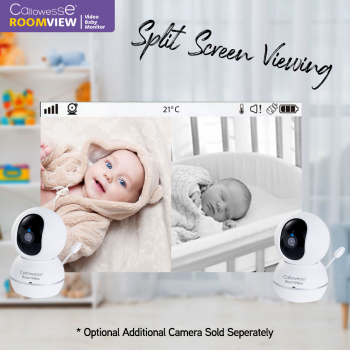 Callowesse RoomView 4.3″ Video Baby Monitor