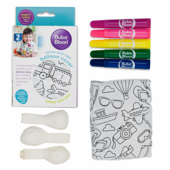 BubaBloon – Colour-in Travel