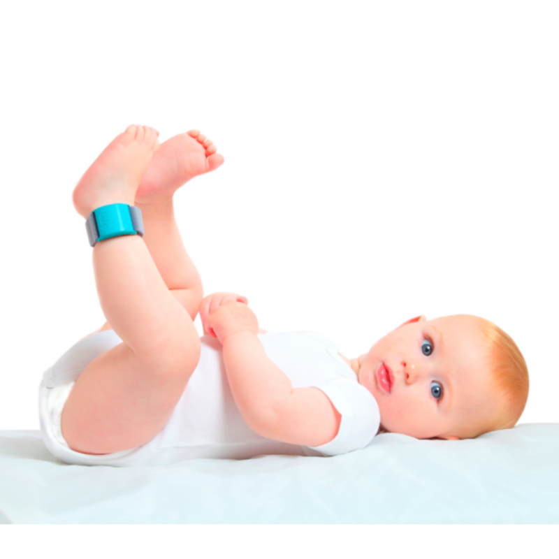 Liip Smart Baby Breathing Monitor Bracelet – Heartbeat, Oxygen and Temperature Sensor