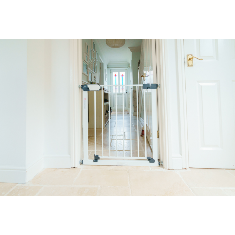 Callowesse Kemble Pressure Fit Narrow Stair Gate 65-70cm – White