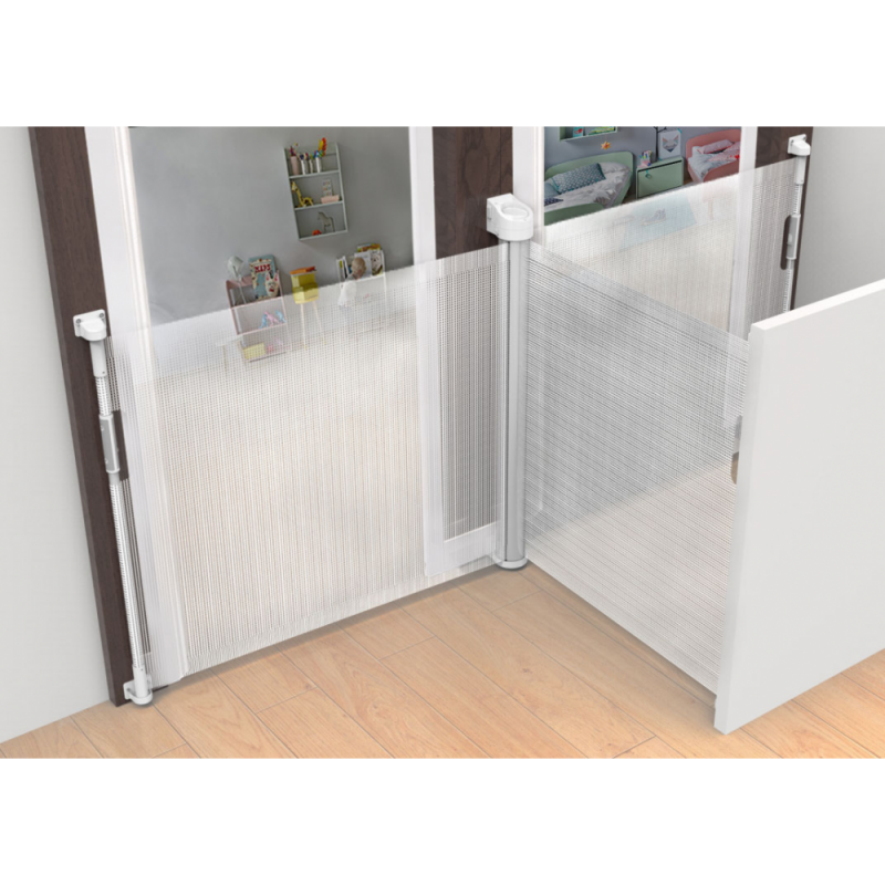 Callowesse Omni-Directional Retractable Stair Gate 0-140cm