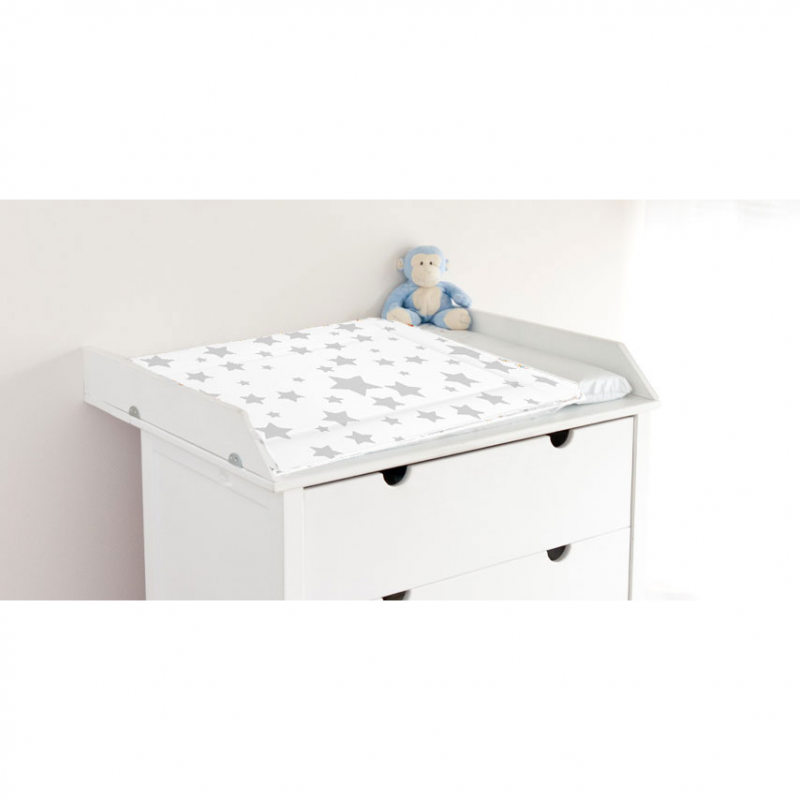 Callowesse Baby Changing Mat – Grey Stars