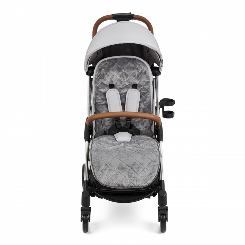 Ickle Bubba Gravity Max Stroller – Silver Grey